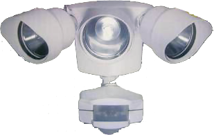 3 Light Motion Sensor Outdoor Lighting | EML | Outdoor Motion Lighting